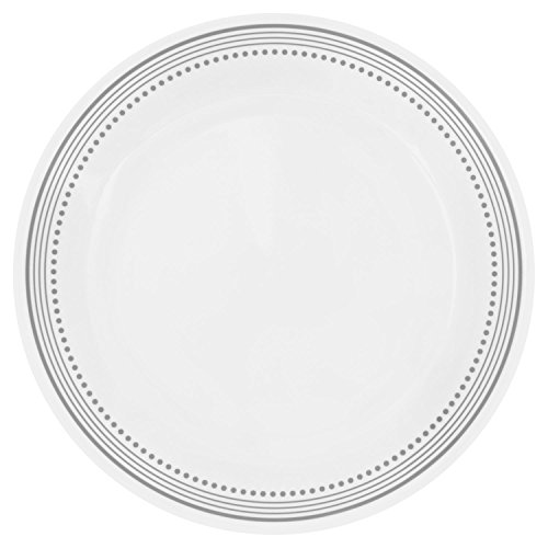 Corelle Livingware Mystic Gray 1025 Dinner Plate Set of 4
