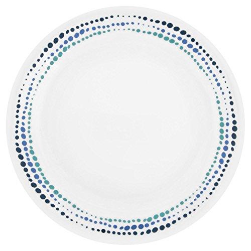 Corelle Livingware Ocean Blues 85 Lunch Plate Set of 8