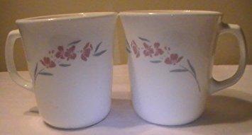 Corning Corelle Silk Blossom Mugs - 4 Mugs