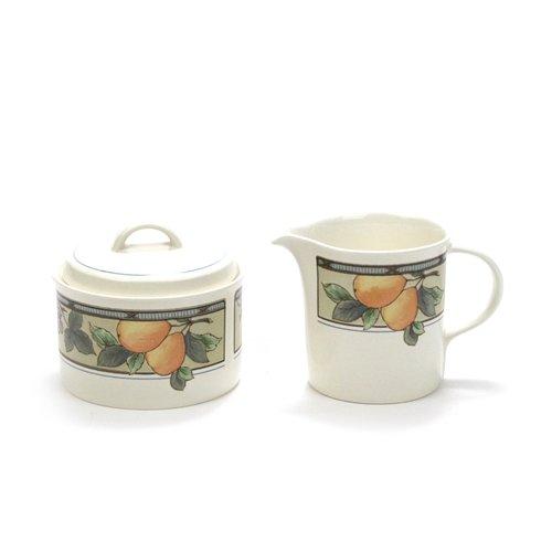Garden Harvest by Mikasa Stoneware Cream Sugar