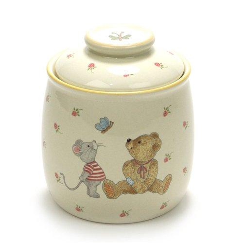 Teddy by Mikasa Stoneware Cookie Jar