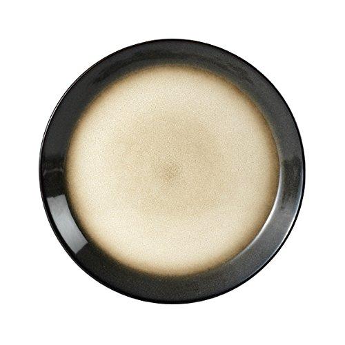 Pfaltzgraff Aria Gray 16-Piece Stoneware Dinnerware Set Service for 4