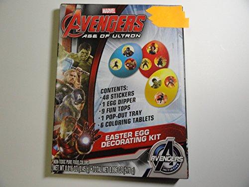 Marvel Avengers Age of Ultron Easter Egg Decorating Kit