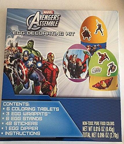 Marvel Avengers Easter Egg Decorating Kit