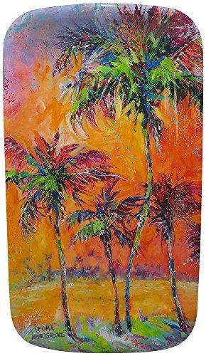 Leoma Lovegrove Parade of Palms Oblong Tray One Size