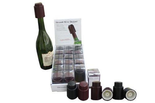 BM TM 18 Packs - Wine Saver Vacuum Wine Pump  Stoppers - YTS-01-18