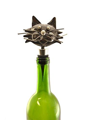 5 Cat Wine Stopper By Wine Bodies