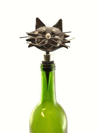 Three Star THREEZA407 Cat Wine Stopper