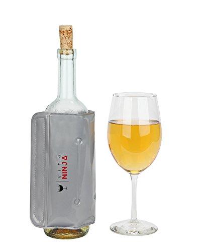 Wine Chiller Sleeve for Individual Wine Bottles – Rapid Bottle Chiller by VinoNinja