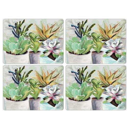 Pimpernel Succulents Placemats Set of 4