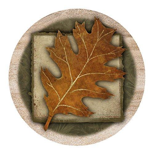 Thirstystone Drink Coaster Set Oak Leaf