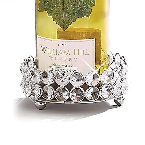 Elegance Sparkle Pillar HolderWine Bottle Coaster