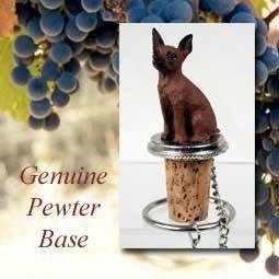 Miniature Pinscher RedBrown Wine Bottle Stopper - DTB57B by Conversation Concepts
