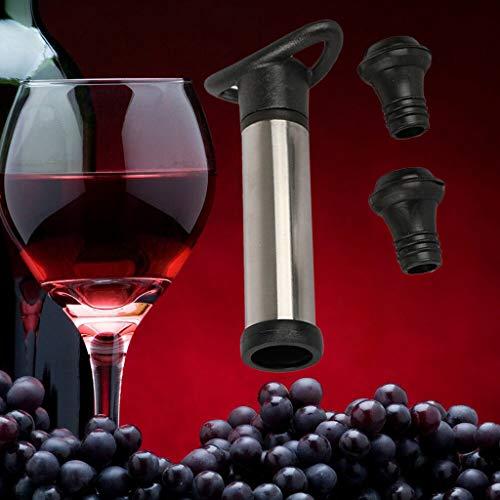 BestSellers  Wine Bottle Saver Vacuum Wine Pump with 2 Stoppers Sealing Preserver