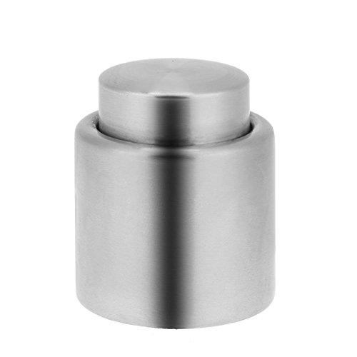 Whitelotous Stainless Steel Vacuum Sealed Wine Bottle Stopper Champagne Wine Preserver Pump Sealer