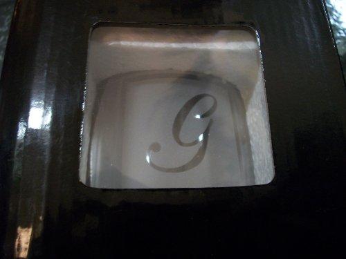 Ganz Initial Wine Glass G