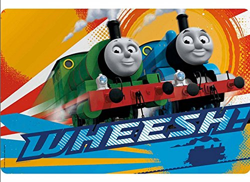 Thomas The Train Friends WHEESH Kids Plastic Placemat Makes Clean Up A Breeze