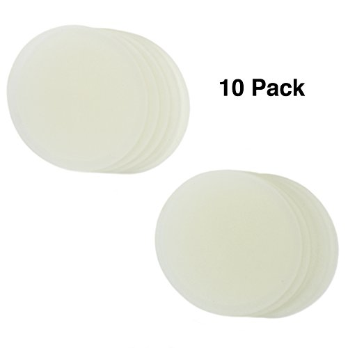 Zoie  Chloe Silicone Seals Lids for Mason Canning Jars - 10 Pack