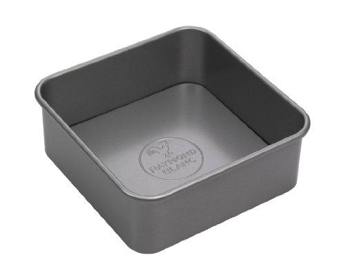 Raymond Blanc Bakeware Square Cake Tin 8 Inch - Grey