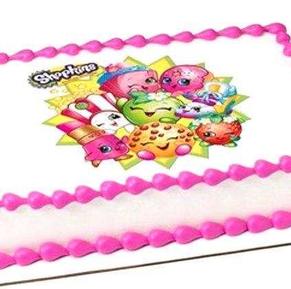 Cakesupplyshop Packaged BB87B - Extra Large Shopkins Edible Image Cake Topper