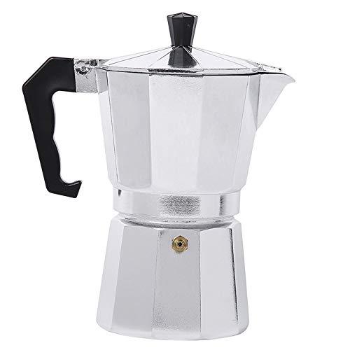 Nrpfell Aluminum Italian Stove TopMoka Espresso Coffee MakerPercolator Pot Tool 150Ml