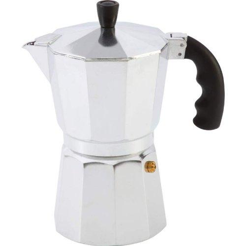 Chef Secret Aluminum 6-Cup Stovetop Espresso Maker-KTESPMKA