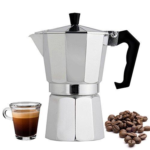 Stovetop Espresso Pots Maker 6 Cup