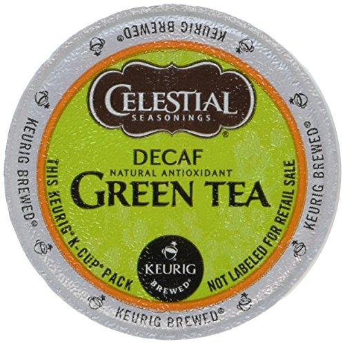 Celestial Seasonings Decaf Green Tea K-Cup Portion Pack for Keurig K-Cup Brewers 24-Count Pack of 2