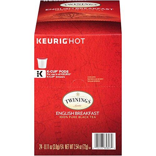 Twinings English Breakfast Tea Keurig K-Cups 24 Count