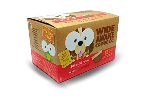 Wide Awake Coffee Peppermint Mocha Single Serve Pods 433oz