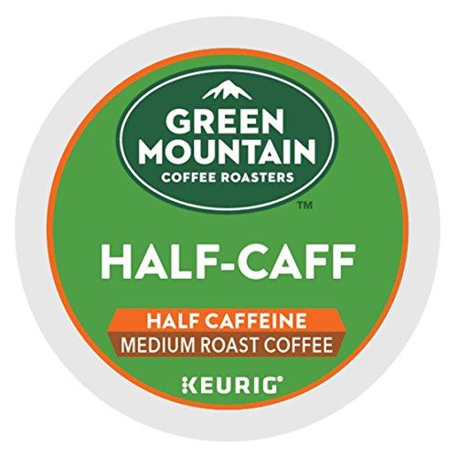 Keurig Green Mountain Coffee Half-Caff 24 K-Cup Packs for Keurig Brewing System