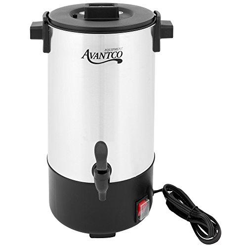Avantco CU30 30 Cup 11 Gallon Stainless Steel Coffee Urn