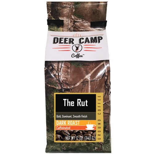 Deer Camp Coffee The Rut Ground Dark Roasted 12 oz