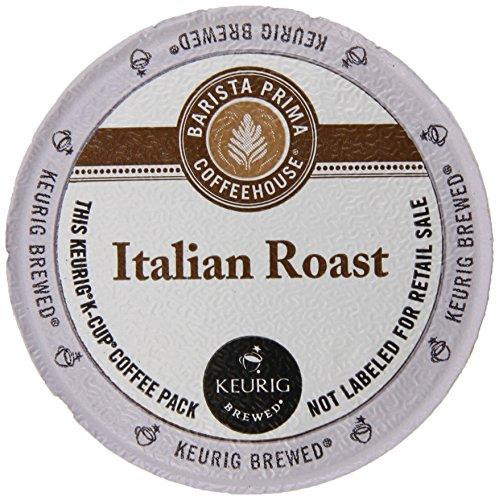 Barista Prima Dark Roast Extra Bold Coffee K-Cup Italian Roast 96 Count