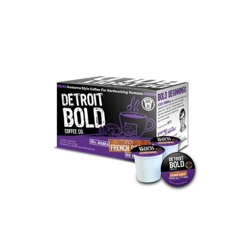 Detroit Bold Coffee - French D Cup Darkest Roast