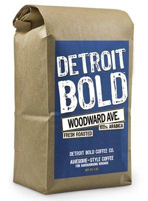 Detroit Bold Coffee - Woodward Ave 16oz Fresh Ground Medium Roast