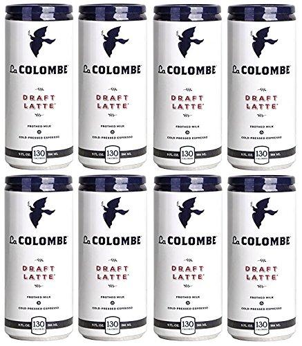La Colombe Coffee Roasters Draft Latte Original Pack of 8