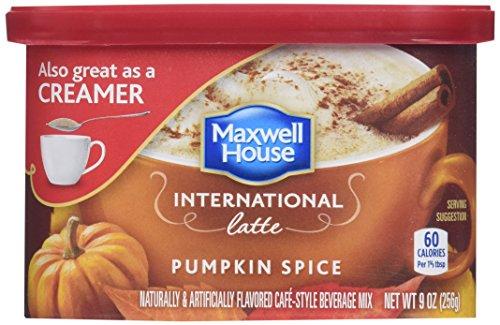 Maxwell House - International Latte Pumpkin Spice Pack of 4