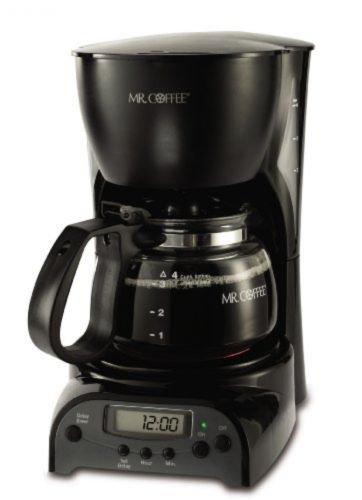 Hot Bestseller Mr Coffee 4-Cup Programmable Coffeemaker DRX5 Black New