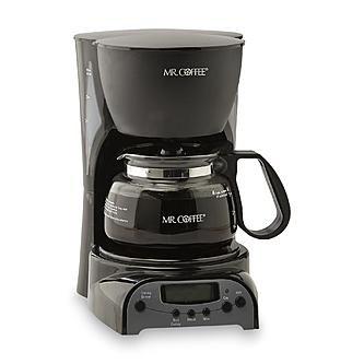 Mr Coffee 4-Cup Programmable Coffee Maker - Black