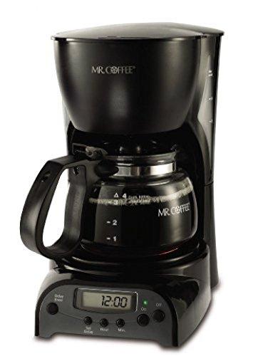 Mr Coffee 4-cup Programmable Coffeemaker Drx5 Black
