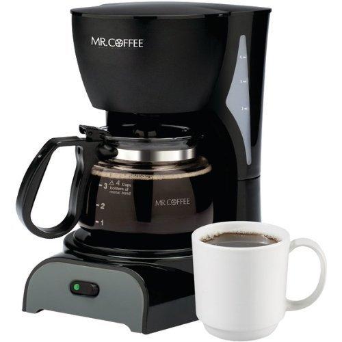 Sunbeam  Mr Coffee Coffeemaker 4 cup Black
