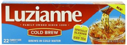 Luzianne Cold Brew Black Tea 22 Count