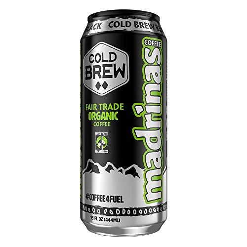 Madrinas Coffee Cold Brew Black 15 fl oz Case of 12