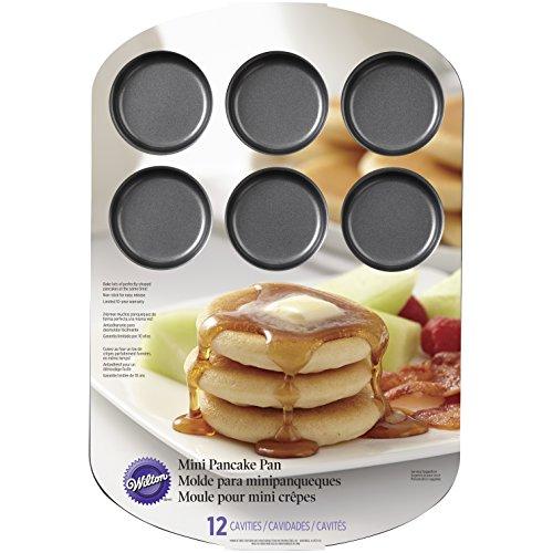 Wilton 2105-8456 12 Cavity Pancake Pan Mini