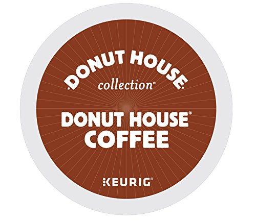 Donut House Collection Donut House Coffee Keurig Single-Serve K-Cup Pods Light Roast 72 Count 6 Boxes of 12 Pods