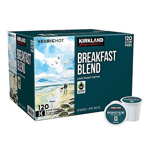 Kirkland Signature Breakfast Blend K-cup 120 Count