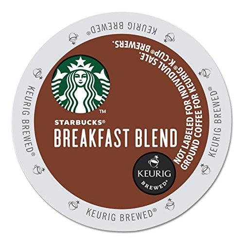 Starbucks Breakfast Blend K-Cup for Keurig Brewers 96 Count