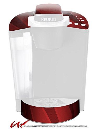 VintageID 25 Red - Decal Style Vinyl Skin fits Keurig K40 Elite Coffee Makers KEURIG NOT INCLUDED