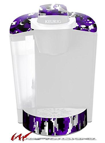 WraptorCamo Digital Camo Purple - Decal Style Vinyl Skin fits Keurig K40 Elite Coffee Makers KEURIG NOT INCLUDED